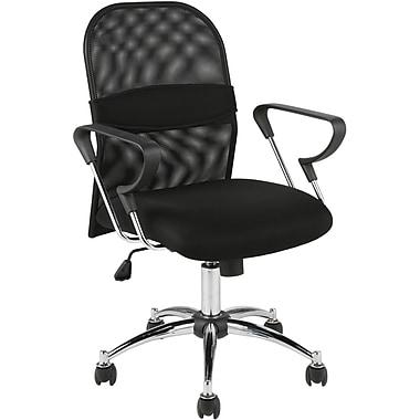 Euro Style™ Marlin Mesh Office Chair, Black