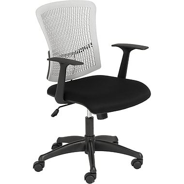 Euro Style™ Finley Fabric Office Chair, Gray/Black
