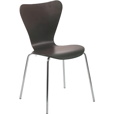 Euro Style™ Tendy Laminated Wood Dining Side Chair, Wenge