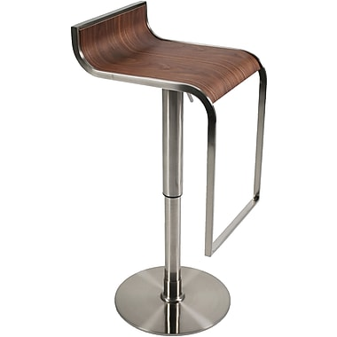 Euro Style™ Forest Wood Veneer Bar/Counter Stools