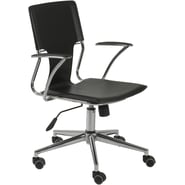 Euro Style™ Terry Leatherette Office Chair, Black