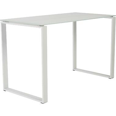 Eurostyle Diego Writing Desk, Pure White (09812PUREWHT)