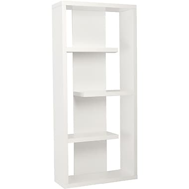 Euro Style™ Robyn 71in. Wood Shelving Unit, White