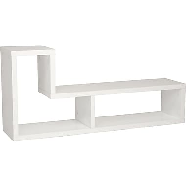 Euro Style™ Mervin Wood TV Stand Media Stand, White