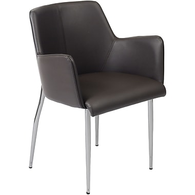 Euro Style™ Sunny Leatherette 4-L Arm Chairs