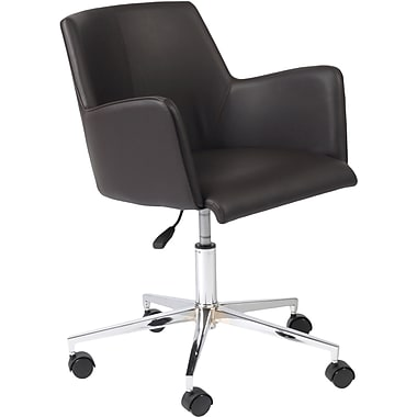 Euro Style™ Sunny Leatherette Office Chair, Brown