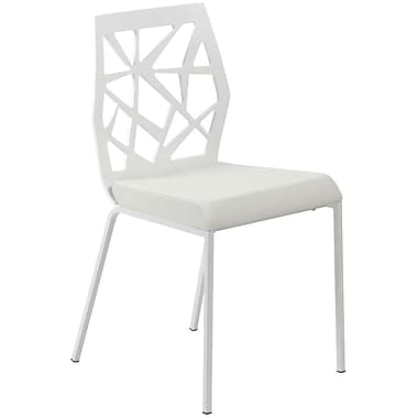 Euro Style™ Sophia Leatherette Dining Side Chair, White