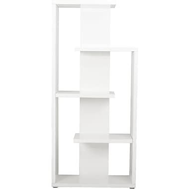 Euro Style™ Robbie 69 1/2in. Wood Shelving Unit, White