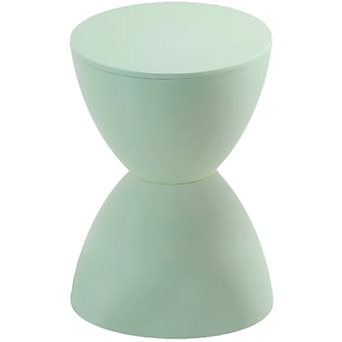Euro Style™ Plastic Sallie Stool, Green Tea