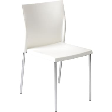 Euro Style™ Yeva Polypropylene Dining Side Chair, White