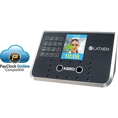 Lathem® FR650 Face Recognition Biometric Time and Attendance System