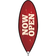 Metrix™ Beaujolais 15' The Bullet™ Advertising Flag, Now Open