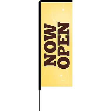 Metrix™ Lemon Zest 8.5' Elbow Banner™, Now Open