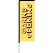 Metrix™ Lemon Zest 8.5' Elbow Banner™, Grand Opening