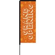 Metrix™ Koi 8.5' Elbow Banner™, Grand Opening