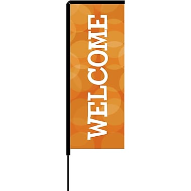 Metrix™ Koi 8.5' Elbow Banner™, Welcome