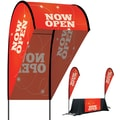 Metrix™ Poppy Red 9' 3D Flex Blade®, Now Open