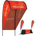 Metrix™ Poppy Red 9' 3D Flex Blade®, Welcome