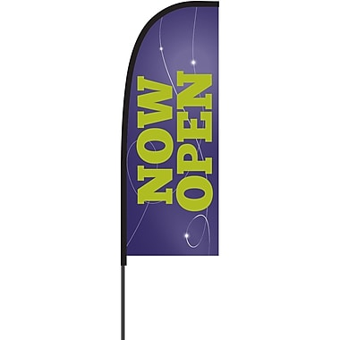 Metrix™ Acai 7' Flex Banner™, Now Open