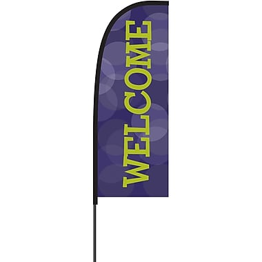 Metrix™ Acai 7' Flex Banner™, Welcome