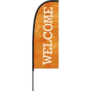 Metrix™ Koi 7' Flex Banner™, Welcome