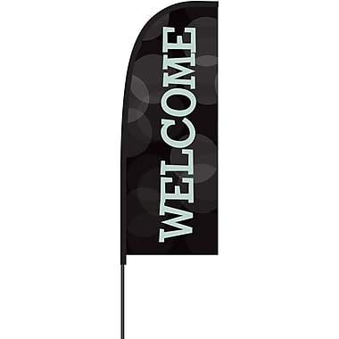 Metrix™ Black 7' Flex Banner™, Welcome