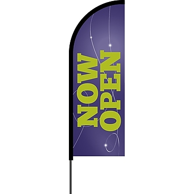 Metrix™ Acai 11' Flex Banner™, Now Open