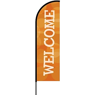 Metrix™ Koi 14' Flex Banner™, Welcome