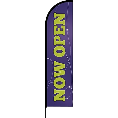 Metrix™ Acai 17' Flex Banner™, Now Open