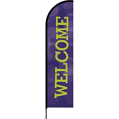 Metrix™ Acai 17' Flex Banner™, Welcome