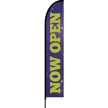 Stylo™ Acai 15' Flex Banner™, Now Open