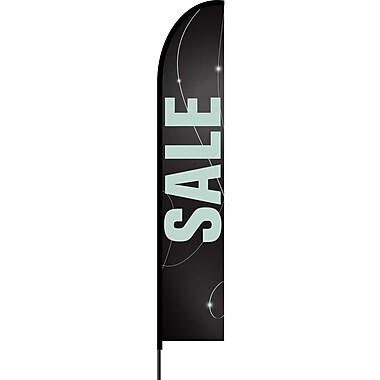 Stylo™ Black 15' Flex Banner™, Sale