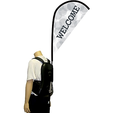 Metrix™ White 44in. Backpack Flex Blade®, Welcome