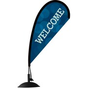 "Metrix™ Monaco Blue 14"" Mini Flex Blade®, Welcome"