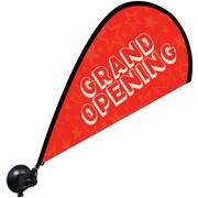 "Metrix™ Poppy Red 29 1/2"" Window Flex Blade®, Grand Opening"