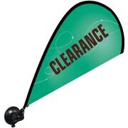 "Metrix™ Emerald 29 1/2"" Window Flex Blade®, Clearance"