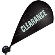 "Metrix™ Black 29 1/2"" Window Flex Blade®, Clearance"