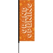 Metrix™ Koi 8.5' Flying Banner, Grand Opening
