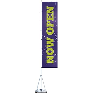 Metrix™ Acai 23' Giant Flag, Now Open