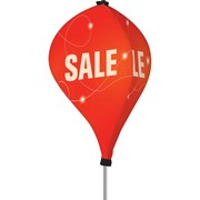 Metrix™ Twizla™ Poppy Red 8' 3 Sided Rotating Display, Sale