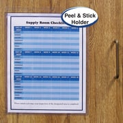 "C-Line® Self-Adhesive Job/Shop Ticket Holders, 9"" x 12"""
