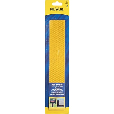 NuVue Amber Reflective Tape, 2