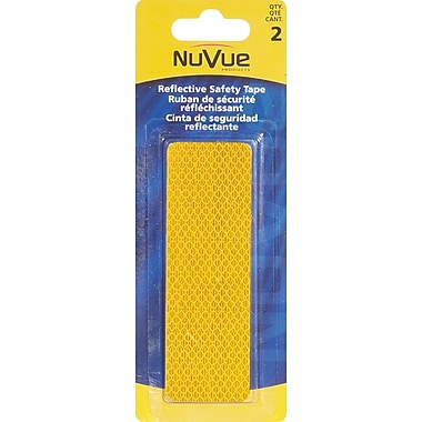 NuVue Amber Reflective Tape, 1 1/2