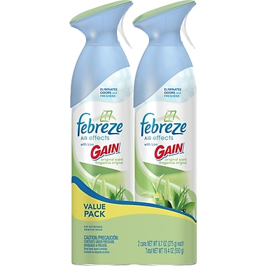 Febreze Air Effects Twin Pack, Gain