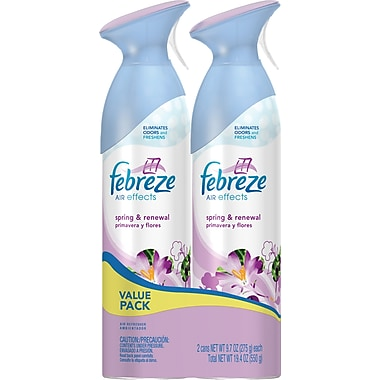 Febreze Air Effects Twin Pack, Spring & Renewal