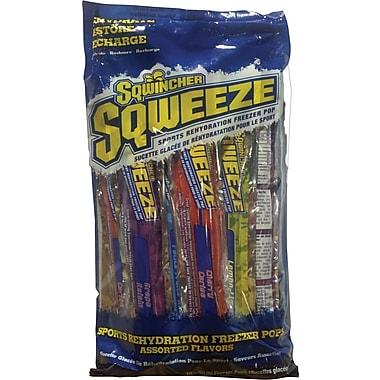 Sqwincher Sqweeze Freezer Pops, Assorted, 150/Case