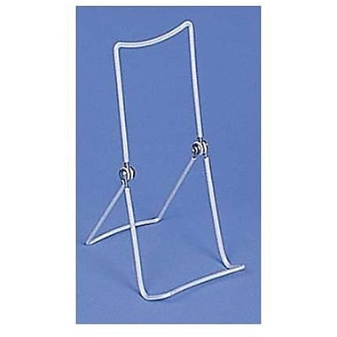 Extended Back Easel, White, 3-1/2