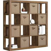 Whalen Reed Collection Room Divider, Walnut