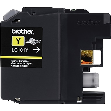 Brother LC101 Yellow Ink Cartridge (LC101Y)