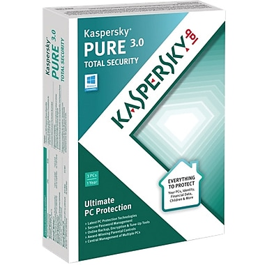 Kaspersky PURE 3.0 Total Security for Windows